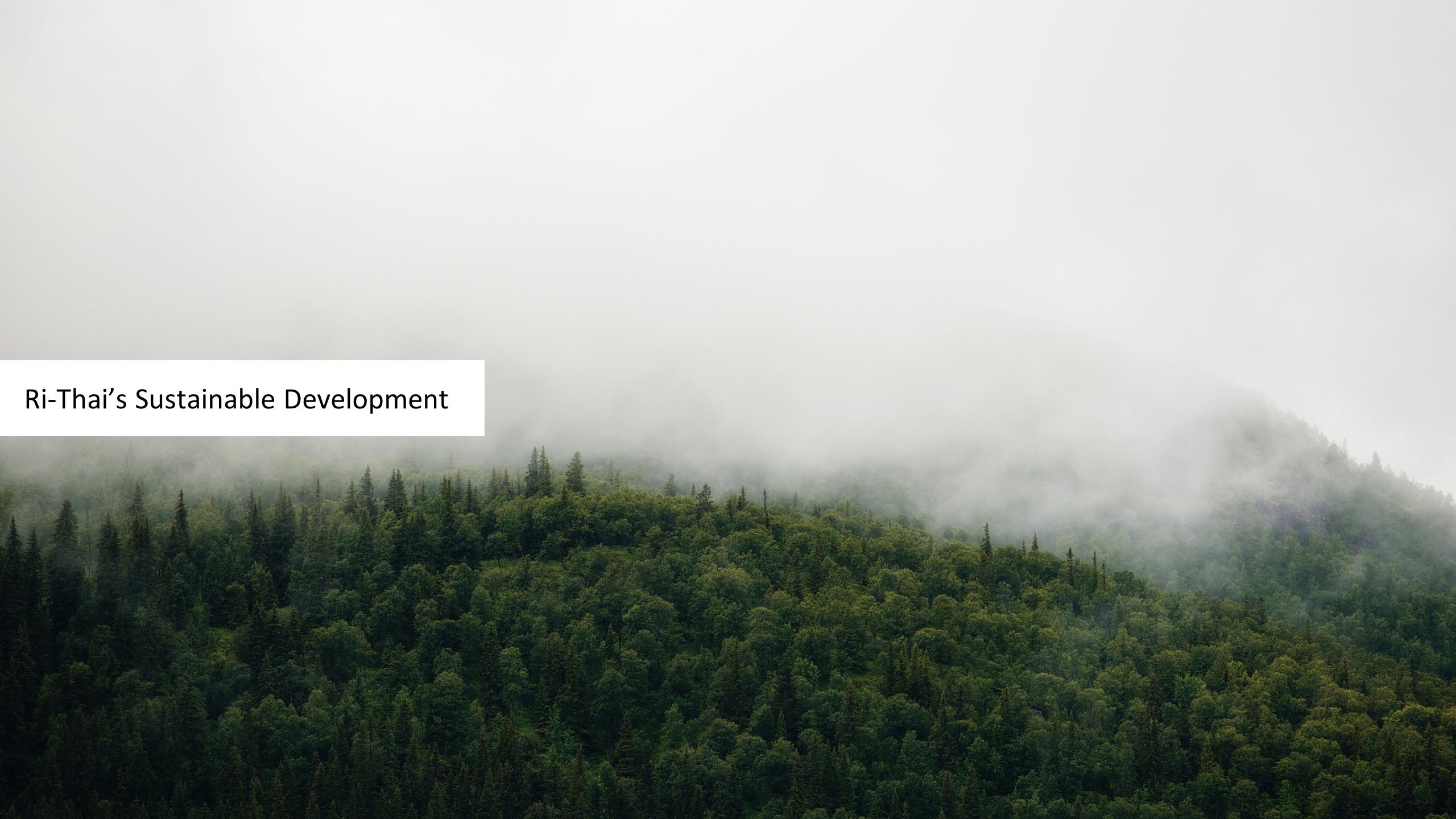 投影片15 Ri-Thai's Sustainable Development
